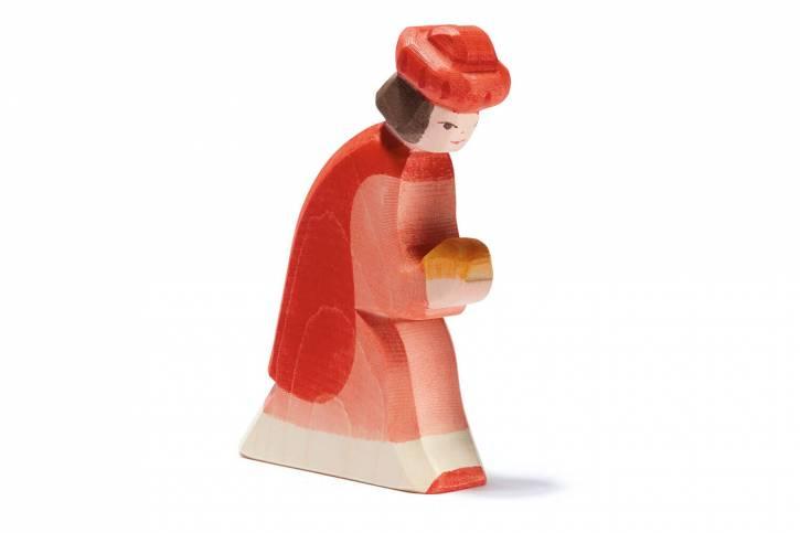 König rot orientalisch aus Holz von Ostheimer