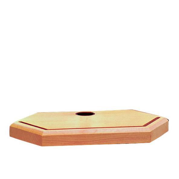 Untergestell für Transparentbilder (ohne Kerze) aus Holz von Ostheimer