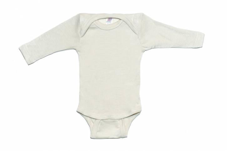 Baby Body langarm von Engel natur / 50/56
