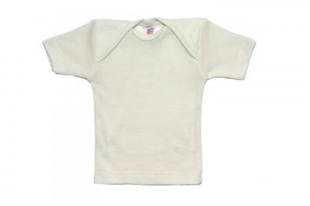 Baby Schlupfhemd kurzarm von Engel natur / 62/68