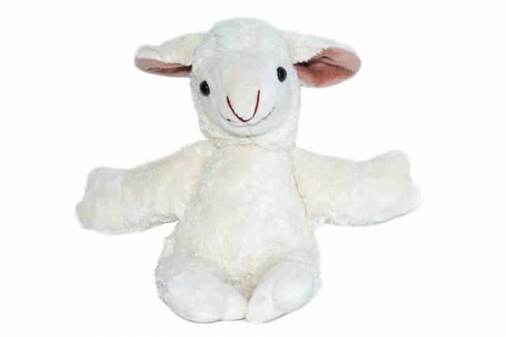 Spieluhr Schaf vegan von Kallisto weiß