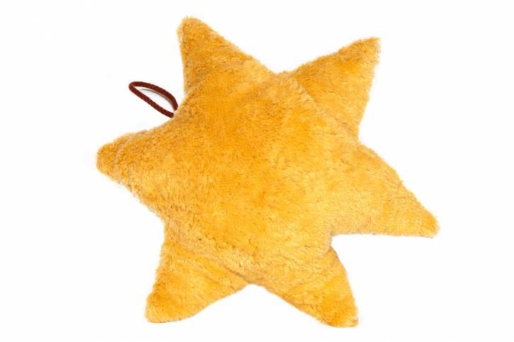 Spieluhr Stern vegan von Kallisto gold gelb