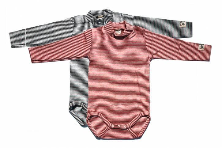 Baby Body langarm mit Stehkragen von Lilano