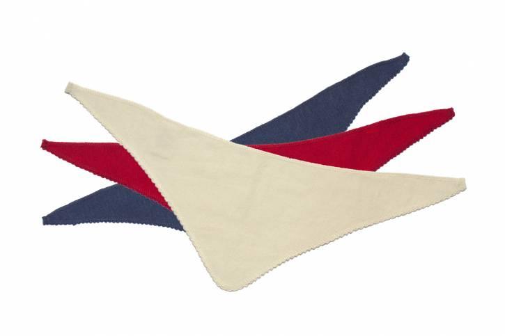 Dreieckstuch Halstuch Wolle Seide von Reiff