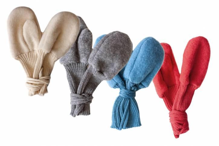 Kinder Fleecehandschuhe aus Schurwolle von Reiff