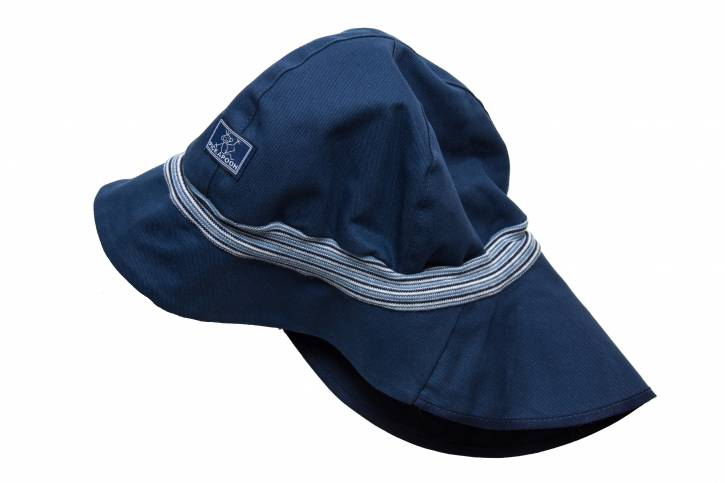 Sonnenschutz Mütze Feuerwehr UV80 aus Baumwolle von Pickapooh marine / 50