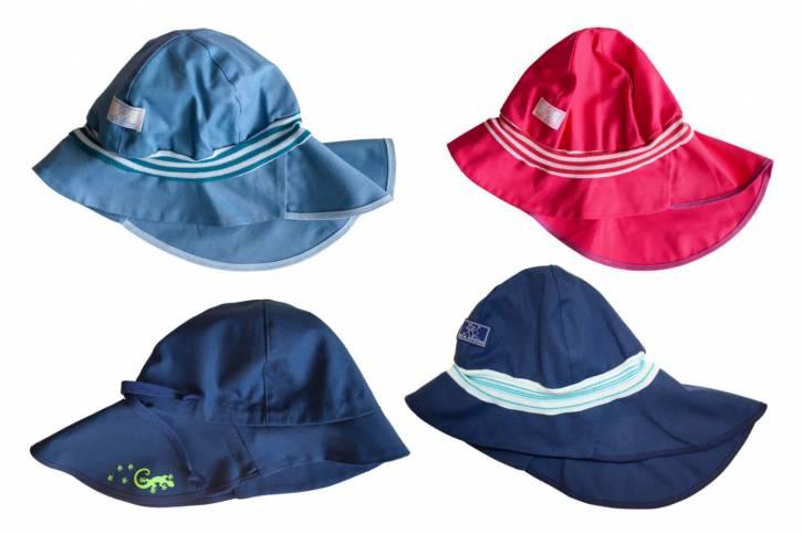 Sonnenschutz Mütze Feuerwehr UV80/UV60 aus Baumwolle von Pickapooh