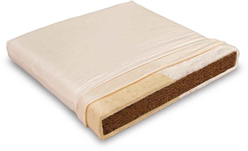 Matratze für Kinder aus Naturmaterialien