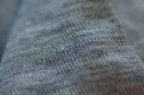 Kinder Shirt langarm aus Schurwolle/Seide von Engel hellgrau-mellange / 92