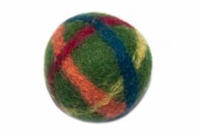 Filzball klein mit Glöckchen von Filges