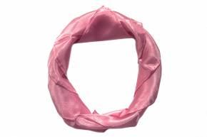 Seidentuch pflanzengefärbt von Filges rosa