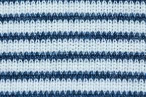 Dreieckstuch Halstuch von Lilano Blau Natur Ringel