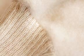Kinder Fleecehandschuhe aus Schurwolle von Reiff 1 / natur